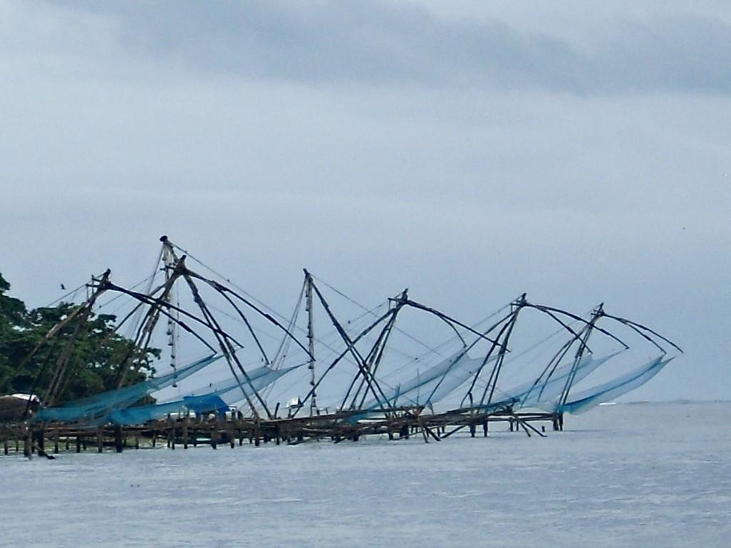 Traditional Cochin fishing nets