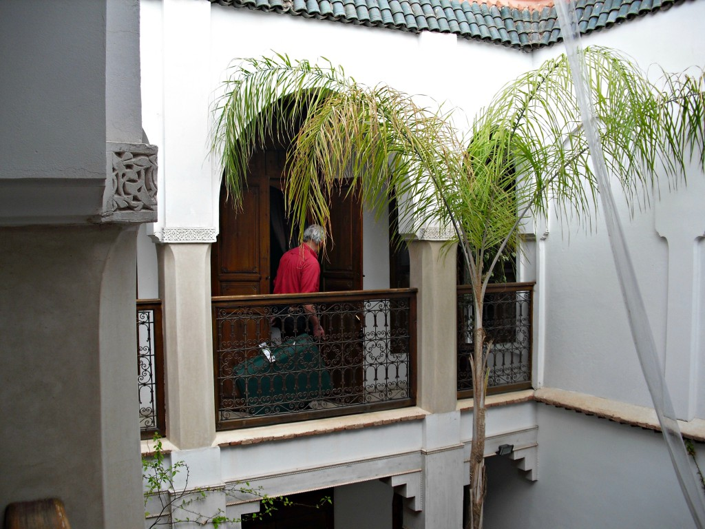 Our lovely riad