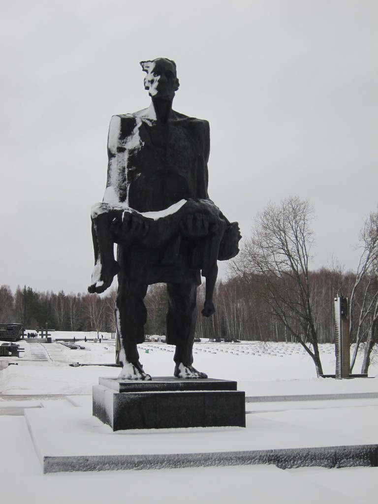 The Unconquered Man, Khatyn Memorial