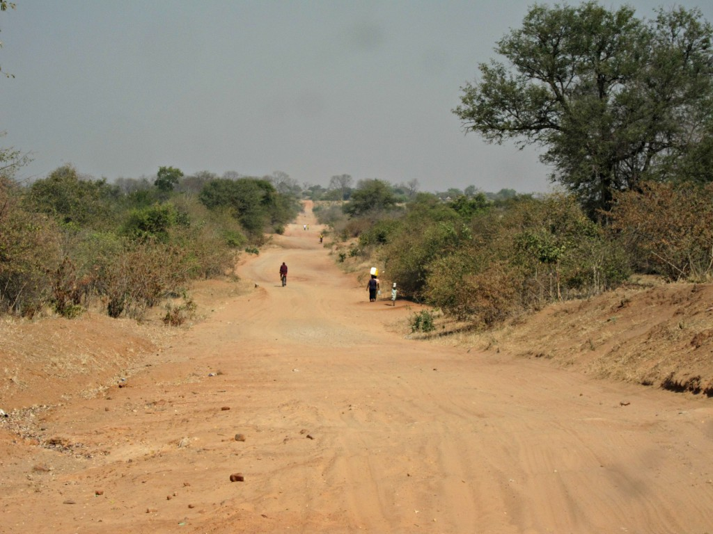 And another African dirt road to get us back to Lusaka...