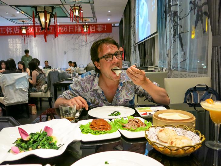 Beijing China Dadong Peking Duck
