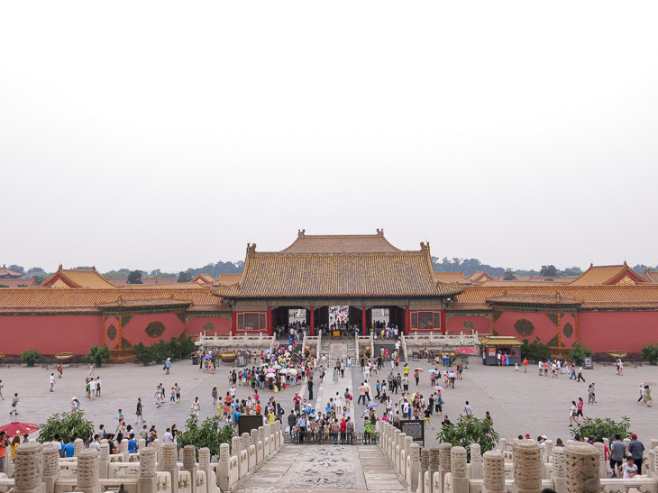 Beijing China Forbidden City Mao