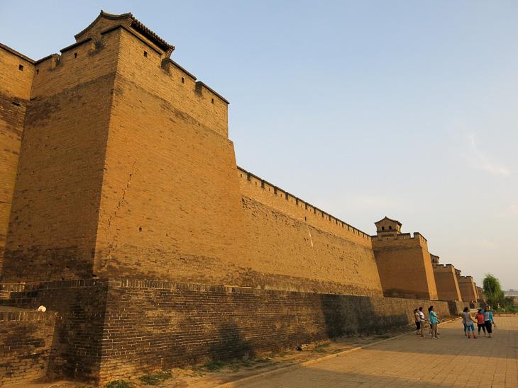 China Travel Train Pingyao City Wall