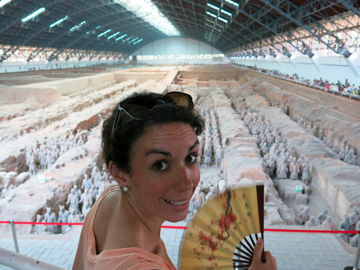 China Train Travel Pingyao Xian Terracotta Warriors