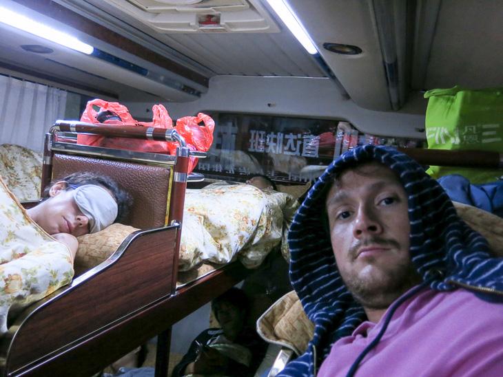 China Travel Yangshuo Hong Kong Sleeper Bus
