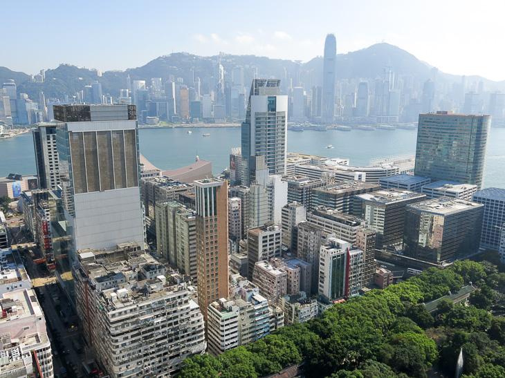 China Travel Hong Kong Skyline