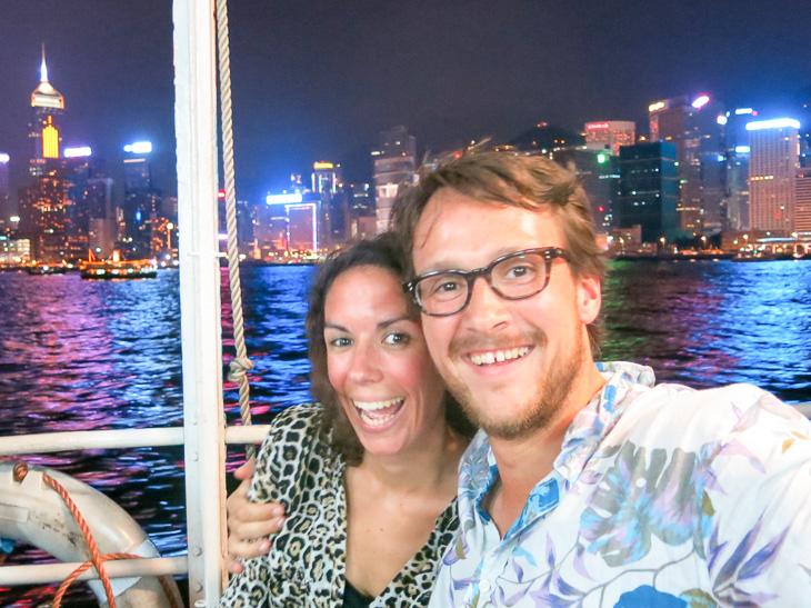 China Travel Hong Kong Light Show Star Ferry