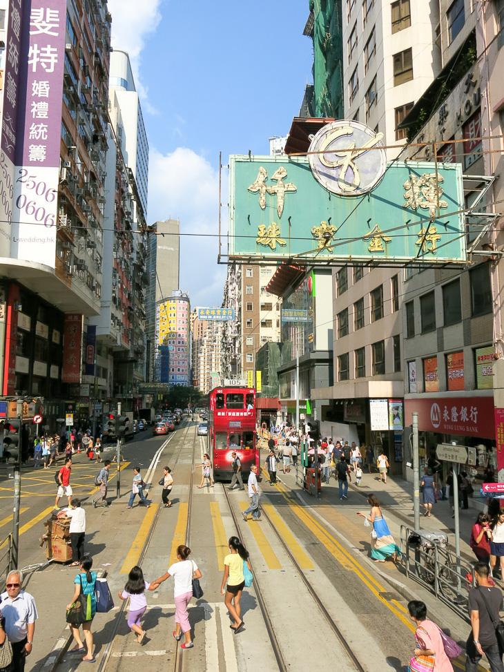 China Travel Hong Kong Trolley