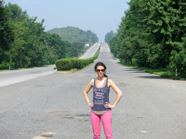 North Korea Pyongyang highway