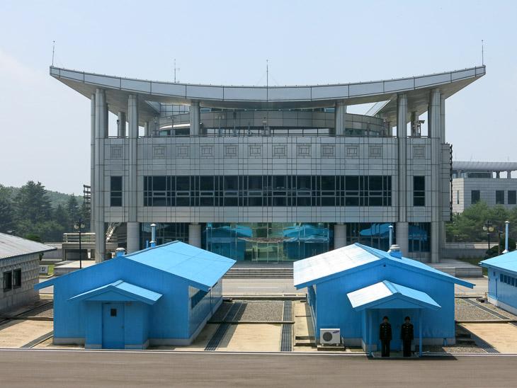 North Korea DMZ border Panmunjom