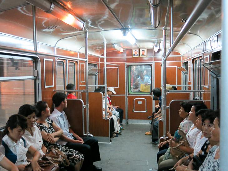 North Korea Pyongyang metro