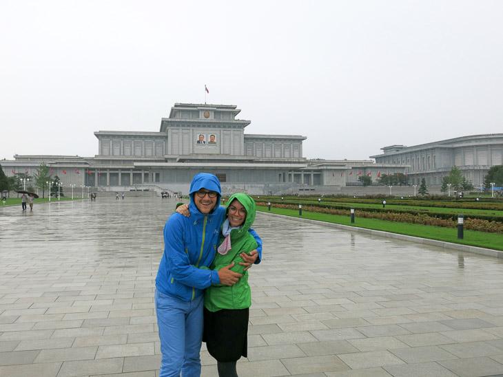 North Korea Pyongyang Kim Jong Il Kim Il Sung mausoleum