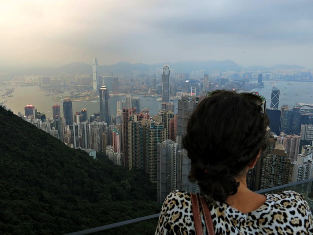 Me in Hong Kong