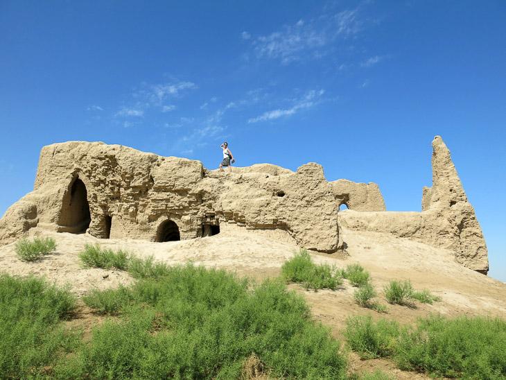 Little Kyz Kala Merw Turkmenistan