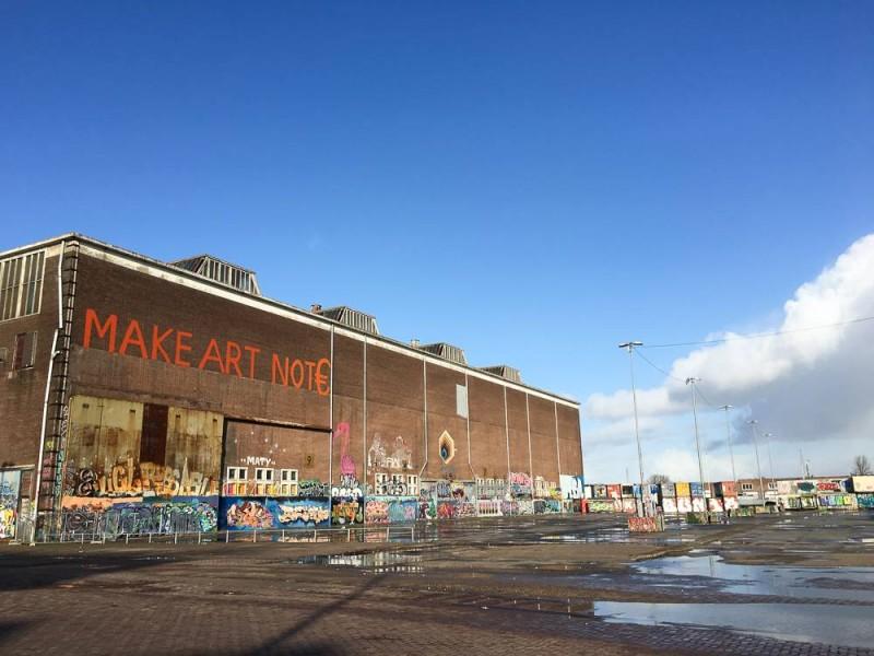 Amsterdam Staycation Streetart NDSM Noord