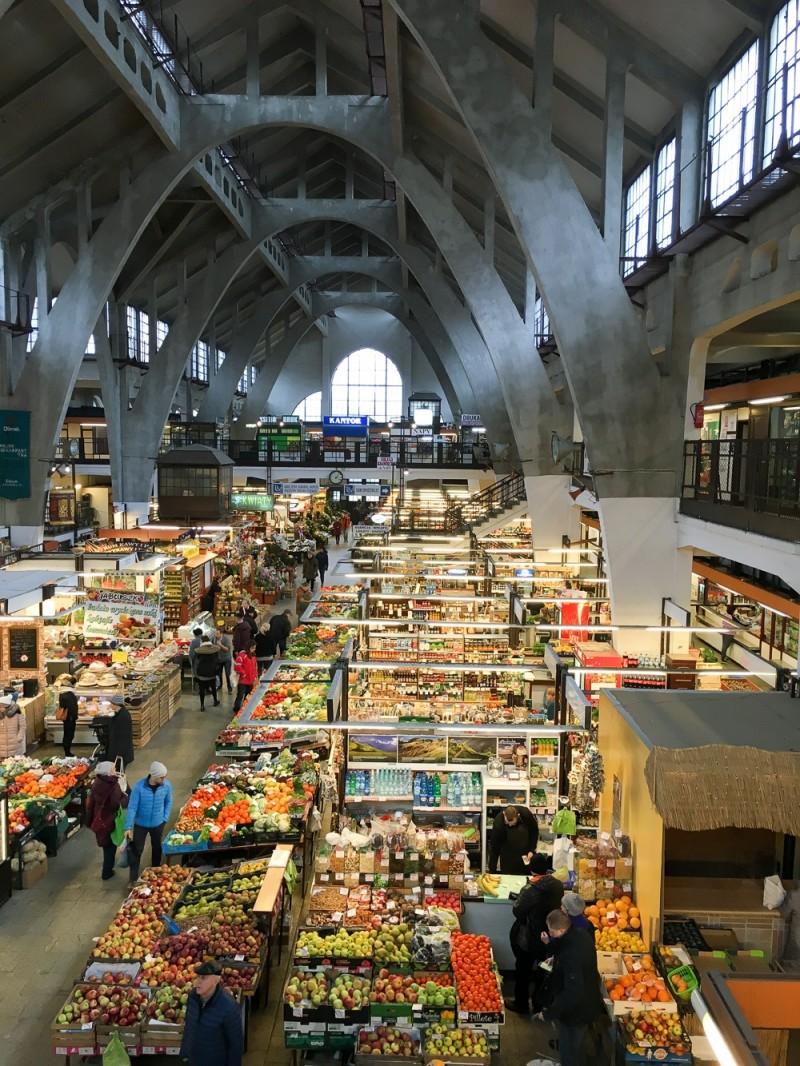 Wroclaw Poland Hala Targowa Market
