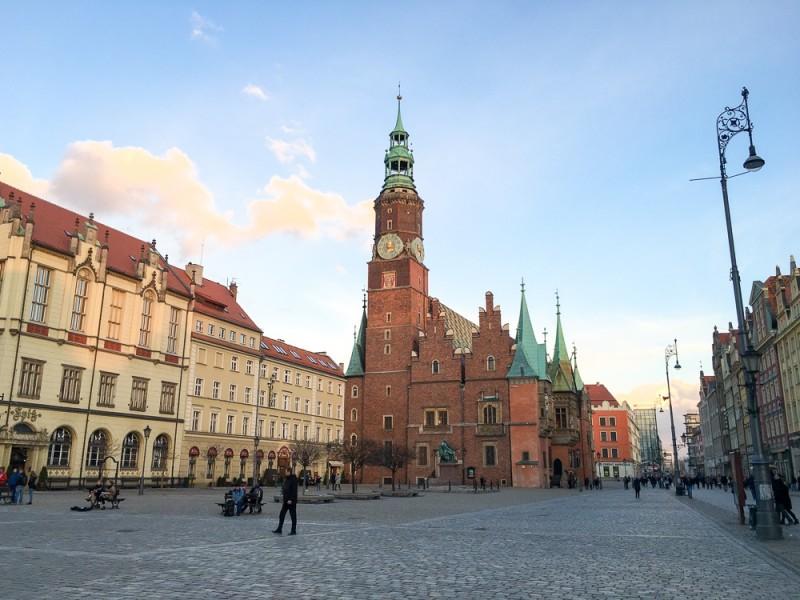 Wroclaw Poland Rynek Ratusz