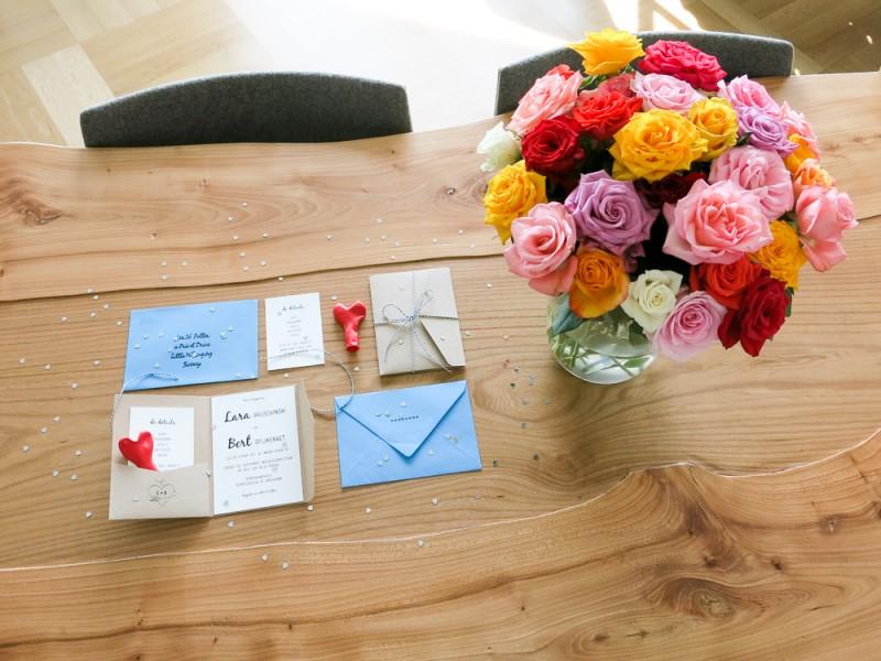Wedding Invitation DIY Amsterdam Bruiloft