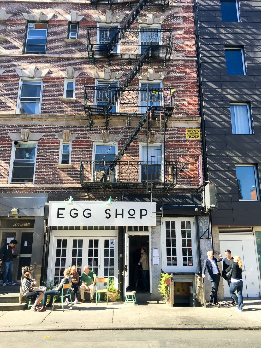 NYC Honeymoon Road Trip USA New York Egg Shop