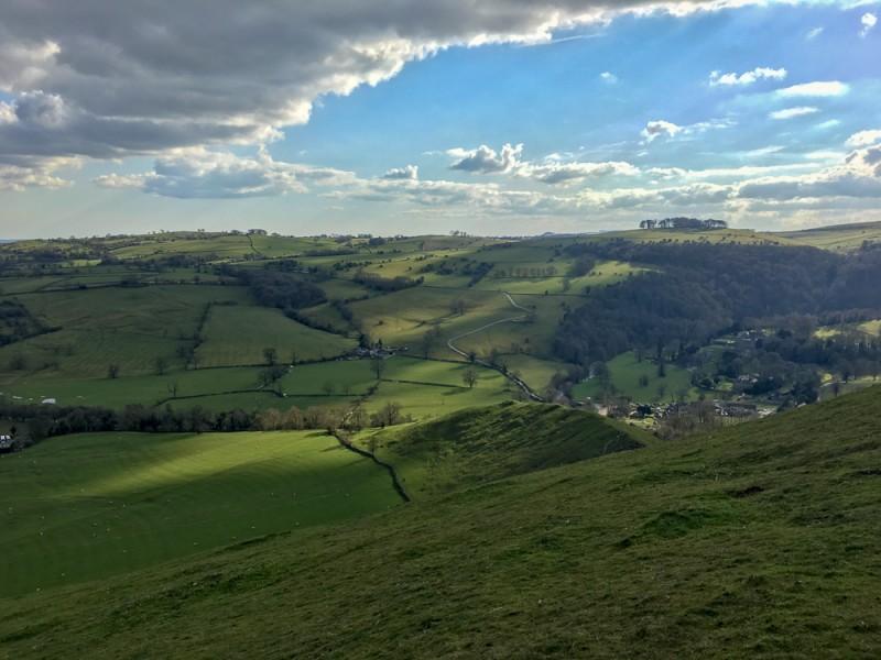UK England Midlands Hiking Peak District