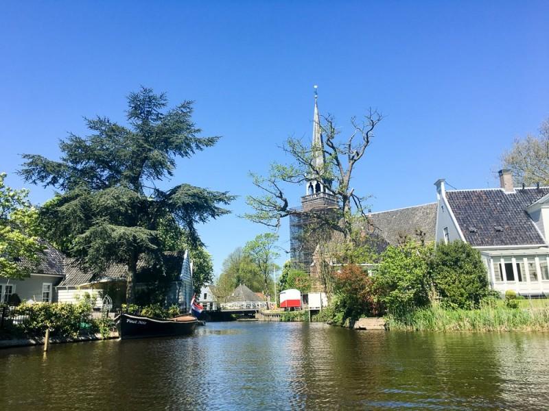 Amsterdam Holland Waterland Netherlands Platteland Nederland Countryside