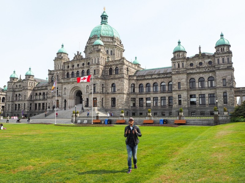 Canada Victoria Vancouver Island Road Trip Parliament Building