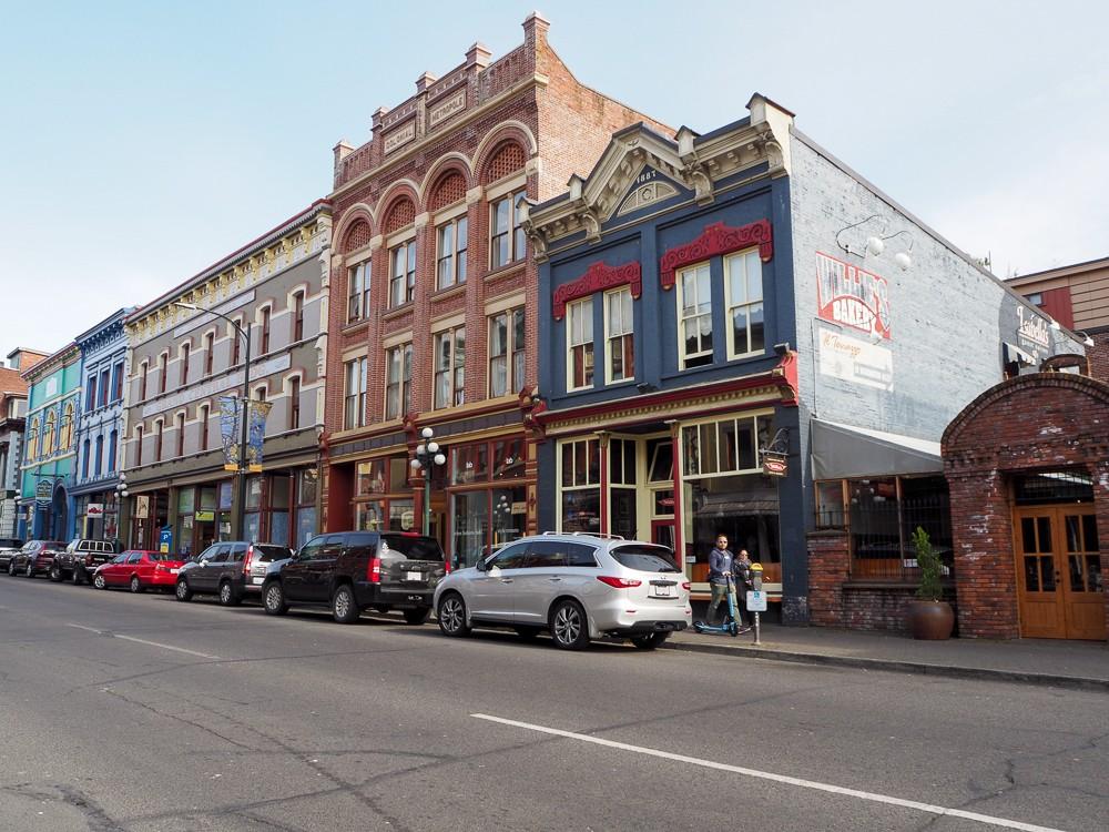 Canada Victoria Vancouver Island Road Trip Heritage Buildings