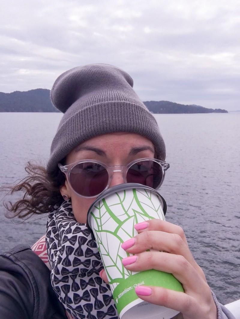 Canada Victoria Vancouver Island Road Trip Ferry