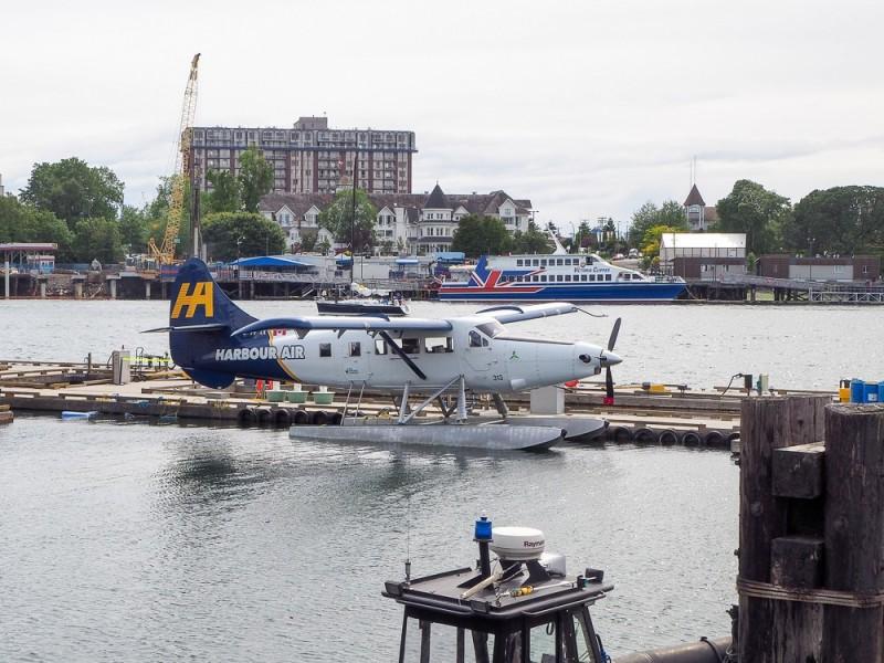Canada Victoria Vancouver Island Road Trip Water Plane