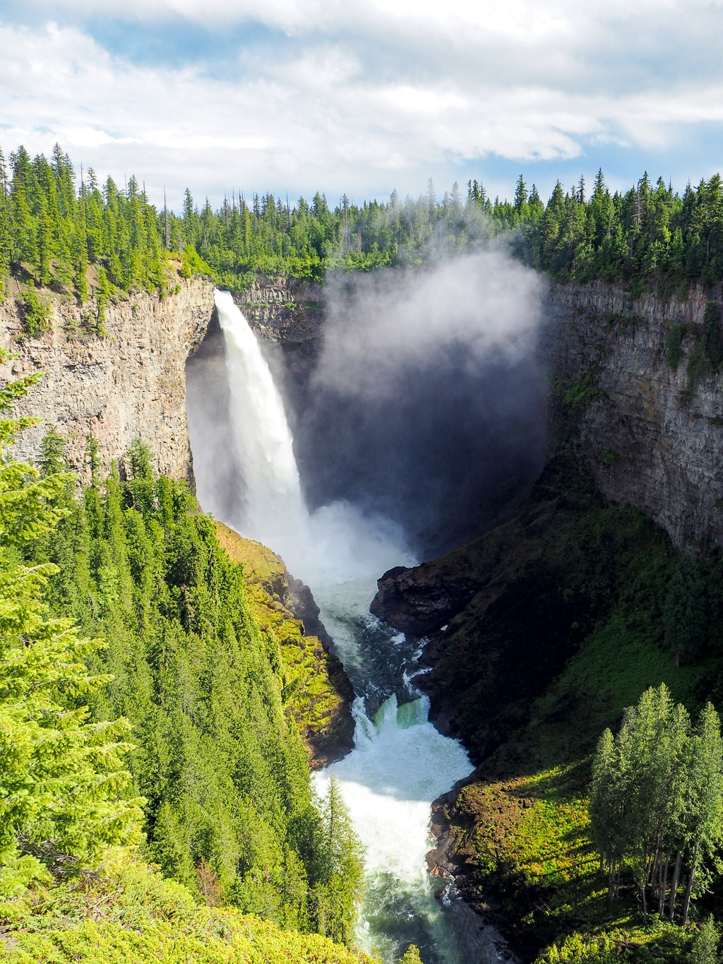 Canada, Wells Gray, British Columbia, Travel, Road Trip, Helmcken Falls, Waterfall