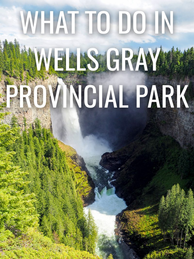 Canada, Wells Gray, British Columbia, Travel, Road Trip, Helmcken Falls, Waterfalll