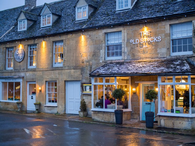 Cotswolds Travel UK Weekend Getaway Stow On The Wold Old Stocks Inn