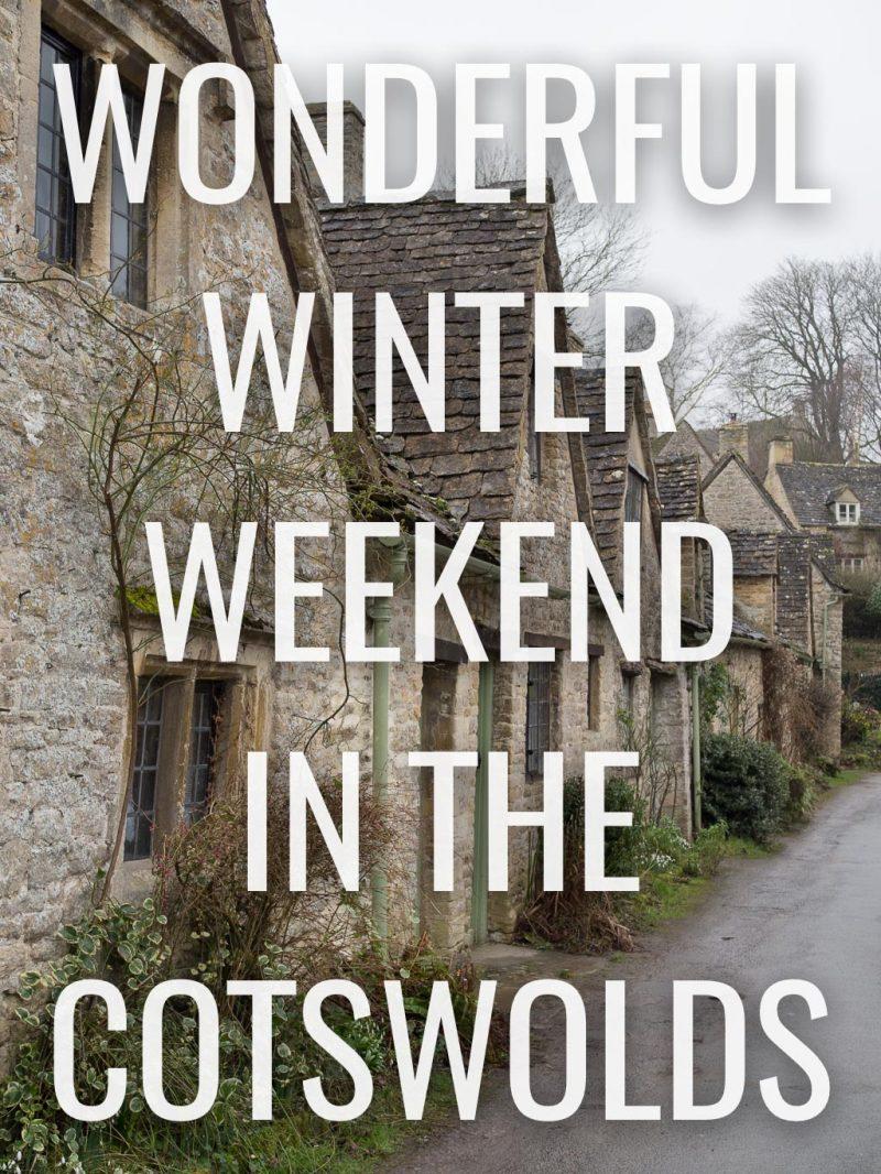 Cotswolds Travel UK Weekend Getaway Bibury Arlington Row