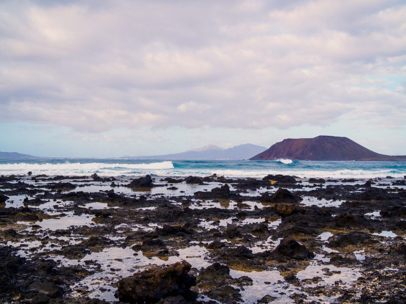 Fuerteventura surfing travel canary islands Rocky Point