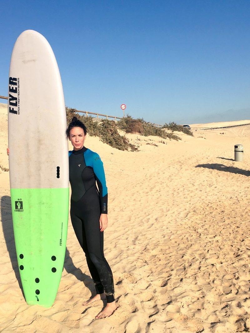 Fuerteventura surfing travel canary islands El Moro