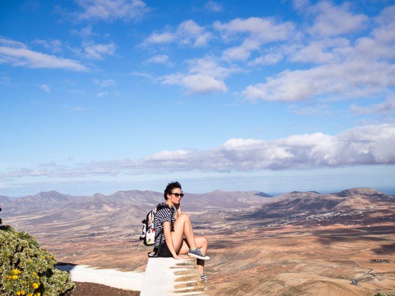 Fuerteventura surfing travel canary islands Mirador Morro Velosa