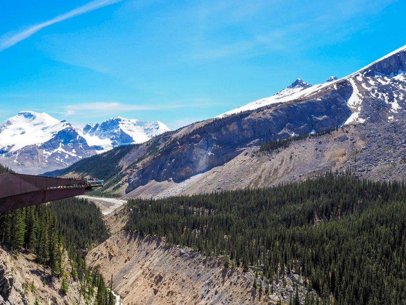 Canada Rocky Mountains Canadian Rockies Icefields Parkway Glacier Skywalk