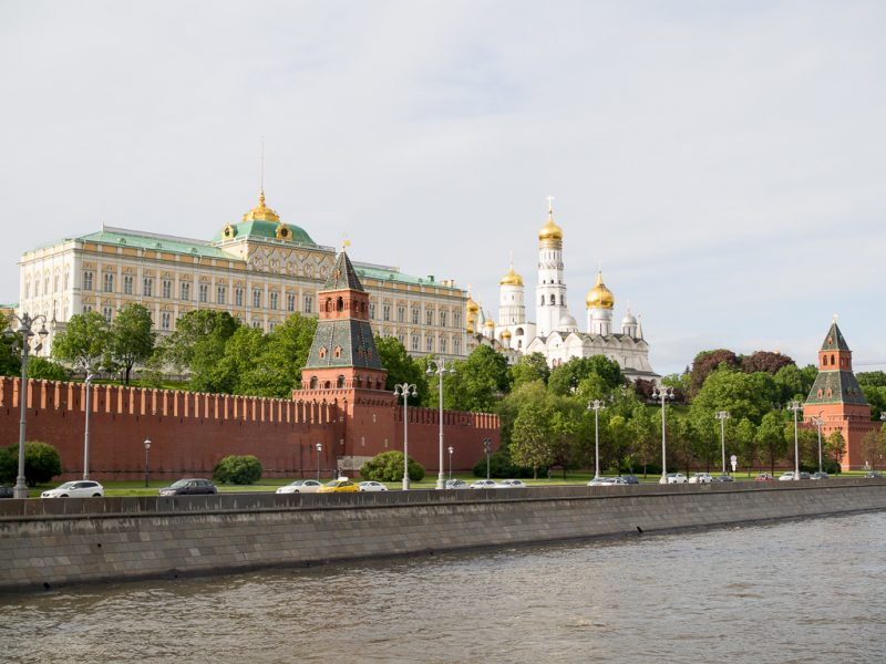 Moscow Russia Travel Weekend River Cruise