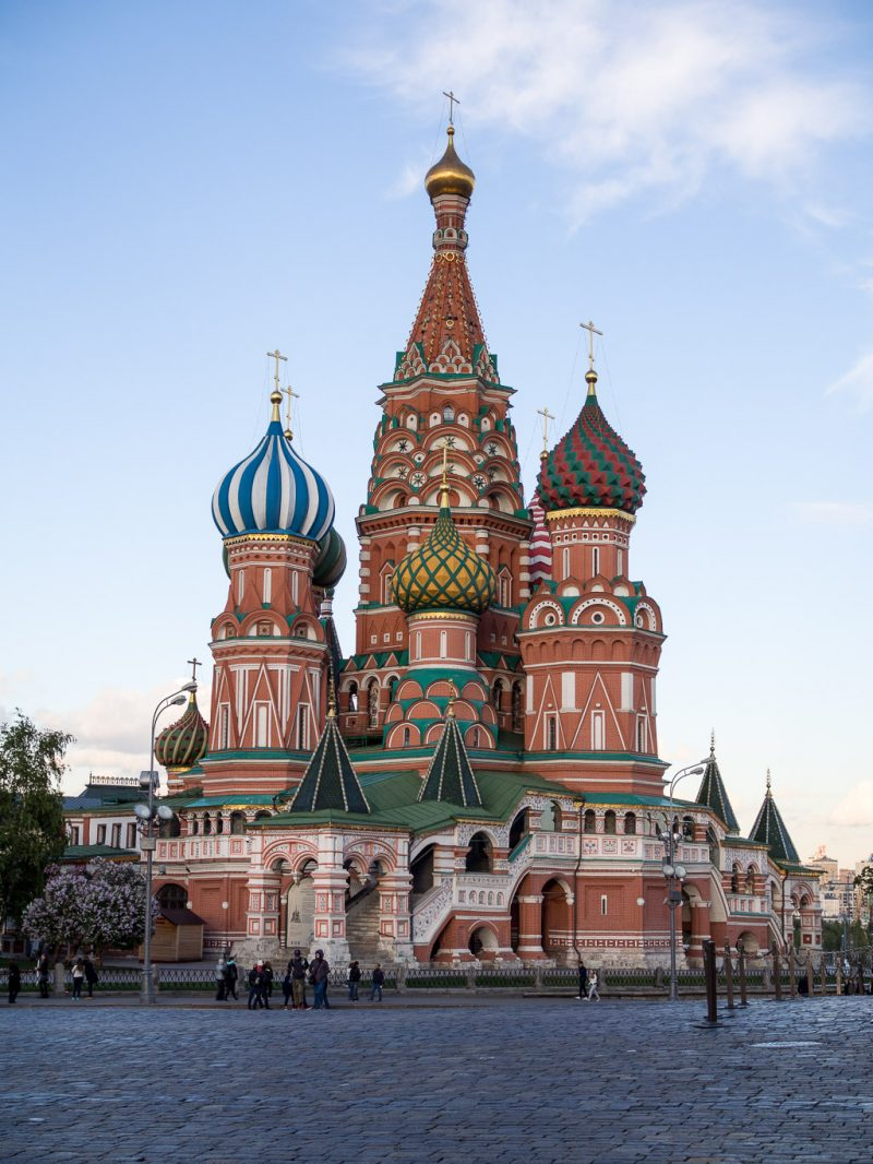 Moscow Russia Travel Weekend Red Square St Basils Cathedral