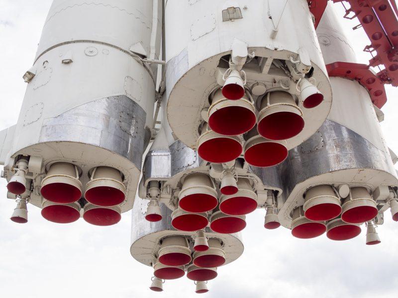 Moscow Russia Travel VDNKh Vostok Rocket