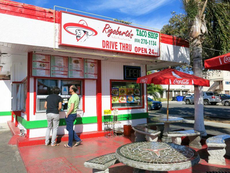 Travel San Diego California USA Rigoberto's Taco Shop