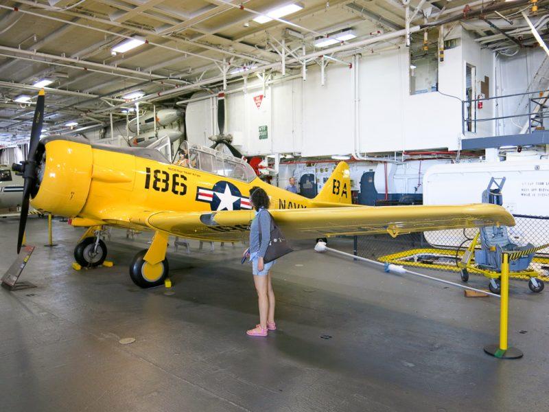 Travel San Diego California USA USS Midway