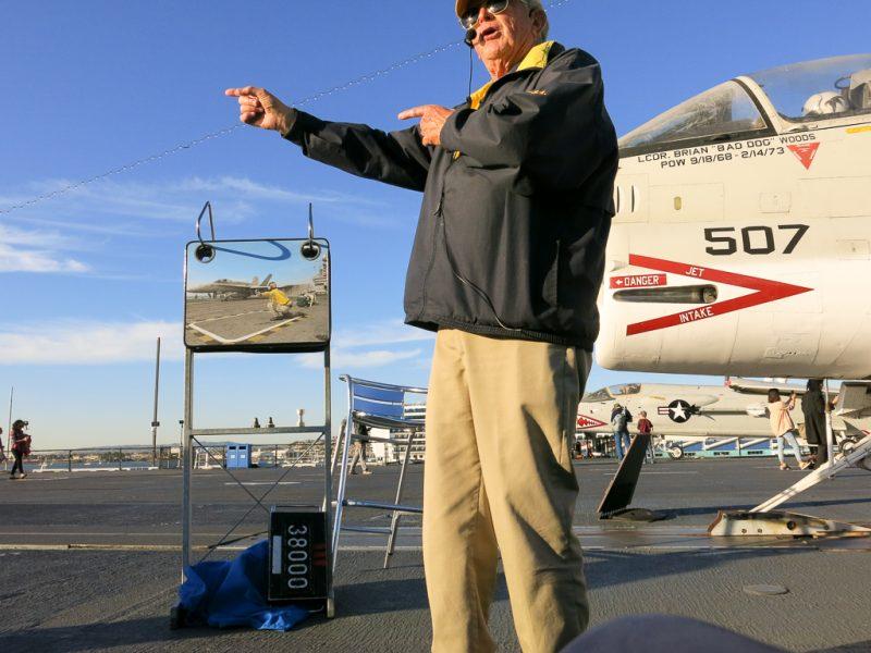 Travel San Diego California USA USS Midway Veterans Day