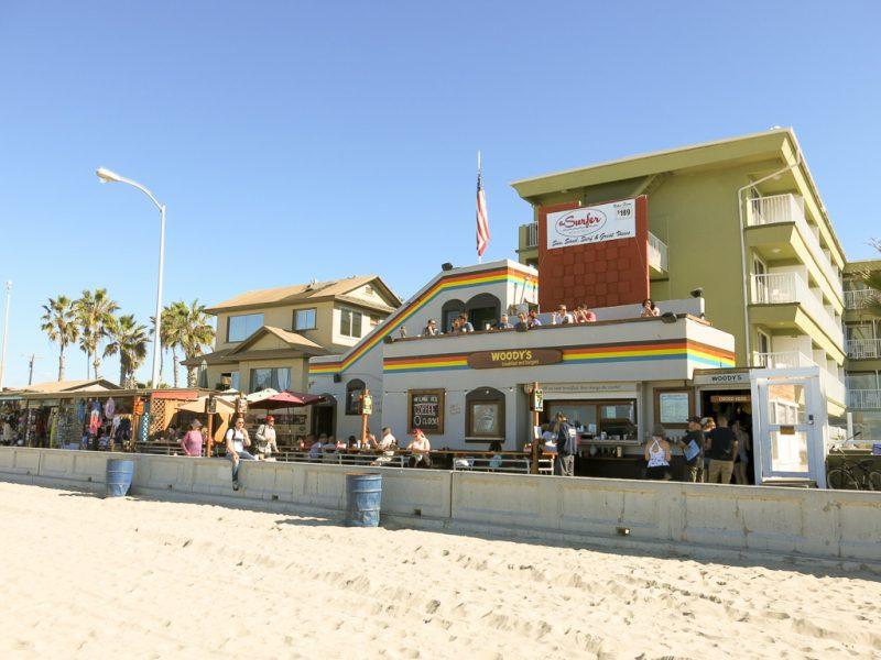 Travel San Diego California USA Woody's Pacific Beach