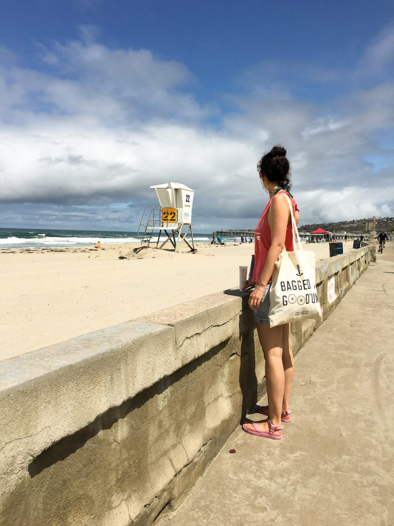 Travel San Diego California USA Pacific Beach
