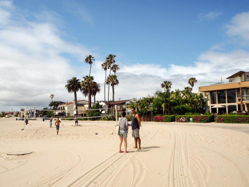 Travel San Diego California USA Pacific Beach Mission Bay