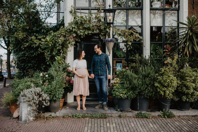 Amsterdam Pregnancy Shoot With Silvia Falcomer