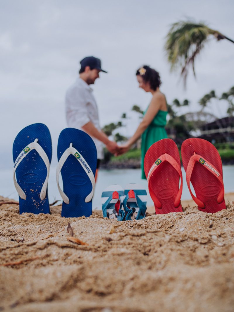 Maui Hawaii Napili Bay Travel Pregnancy Announcement