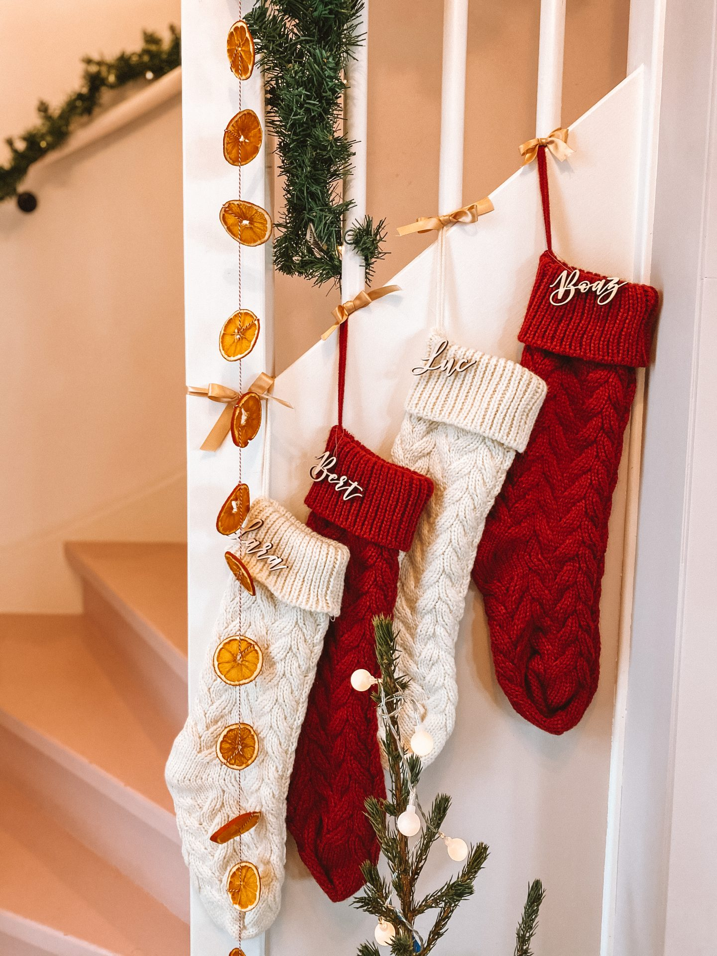 Christmas Crafting: DIY Dried Orange Garland